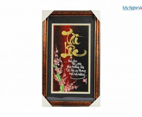 Tranh chữ Tài Lộc MNV-TP012