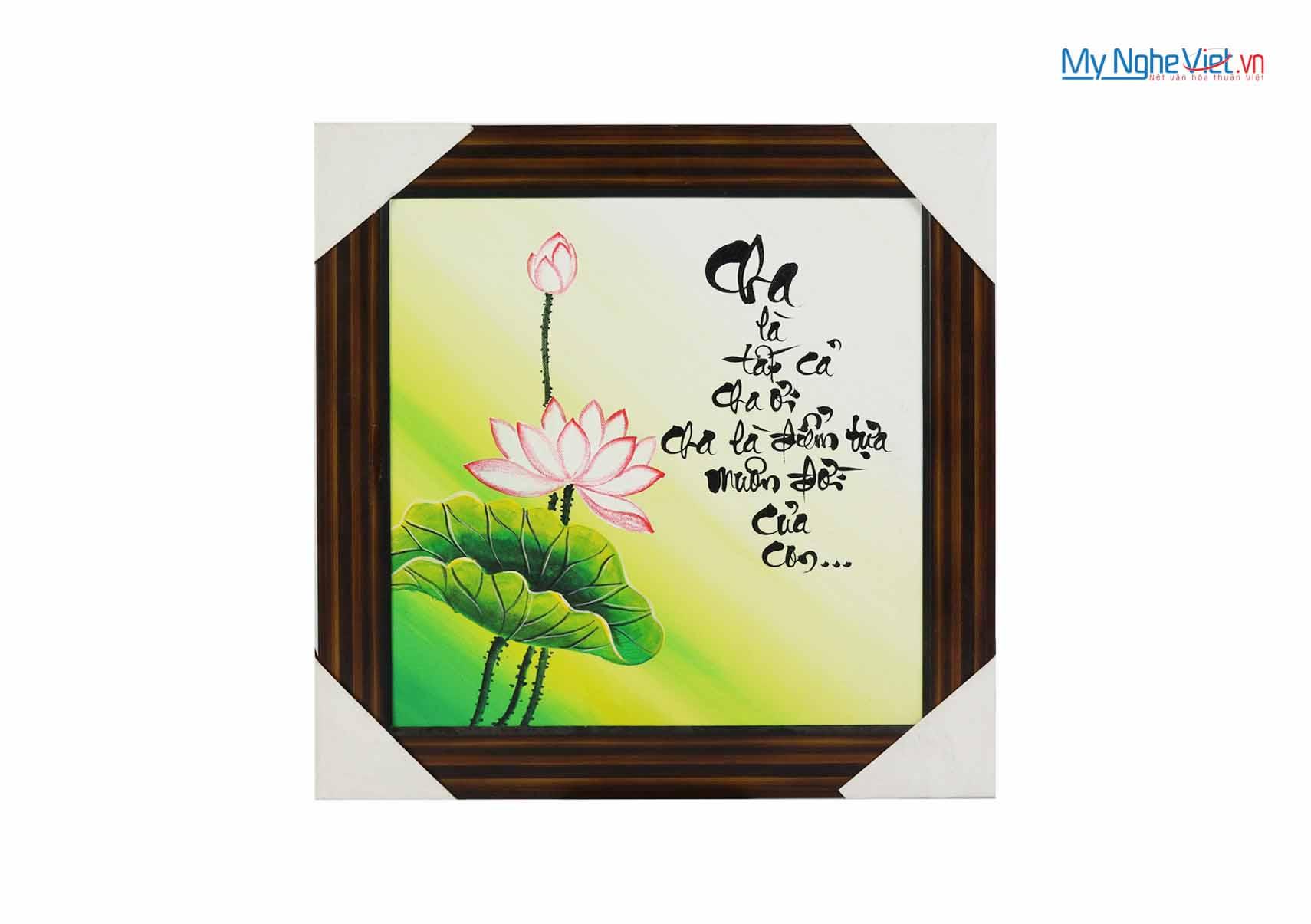Tranh chữ Cha MNV-TP020