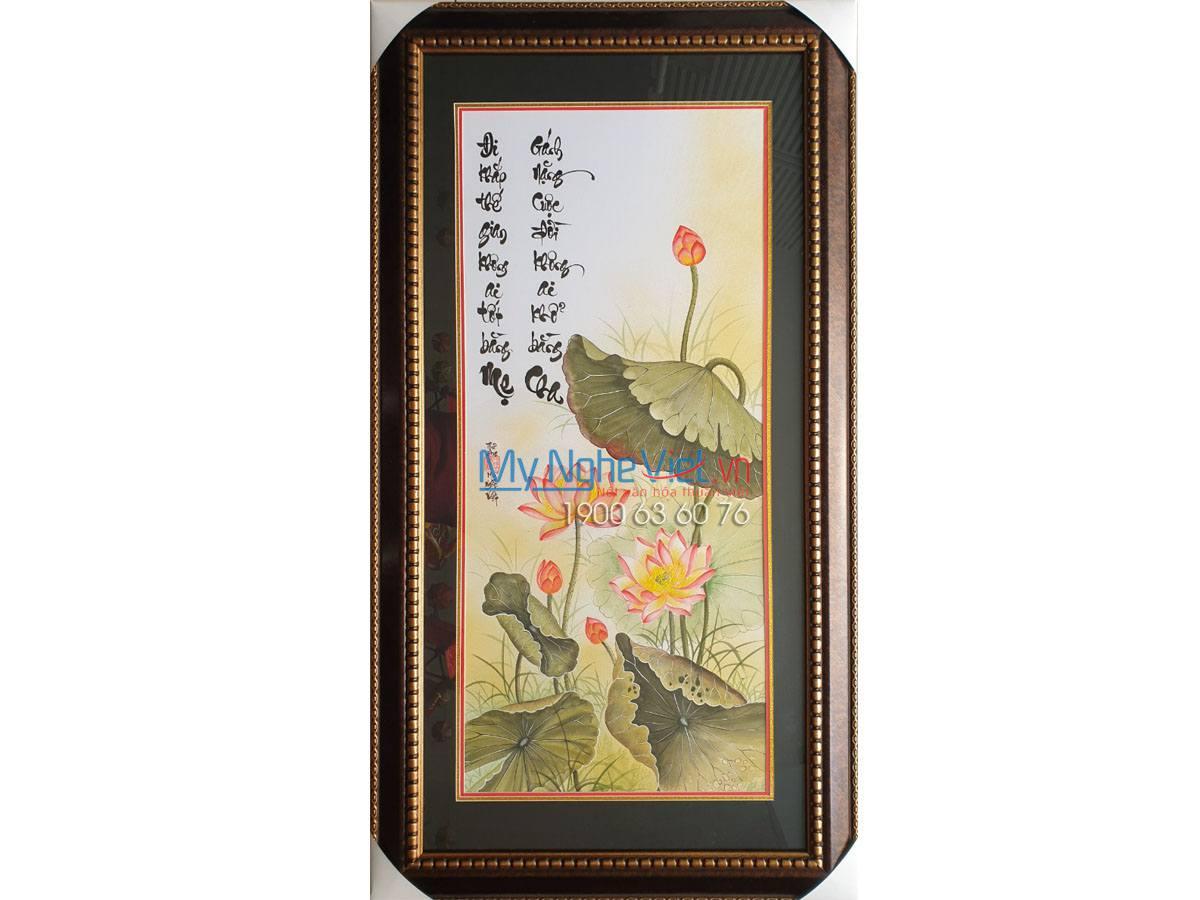 Tranh Liễng Cha - Mẹ MNV-TP069 ( Hang Đặt)