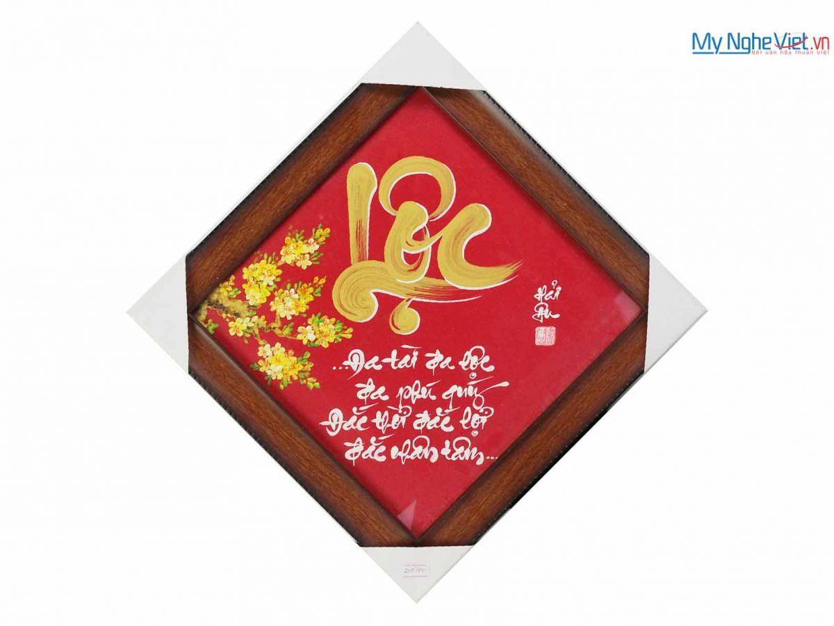 Tranh chữ Lộc MNV-TP006