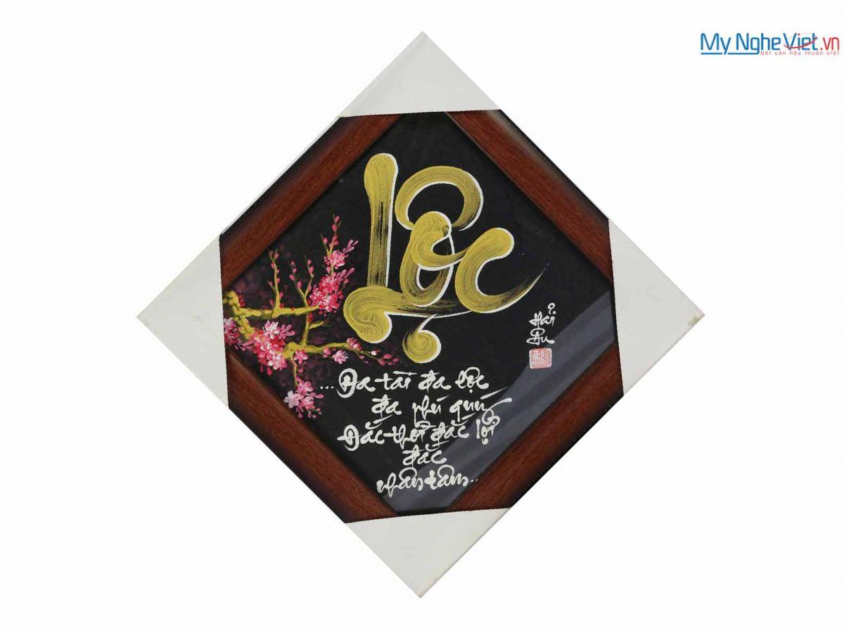 Tranh chữ Lộc MNV-TP008